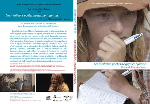 DVD Les meilleurs poètes ne gagnent jamais (52 min)