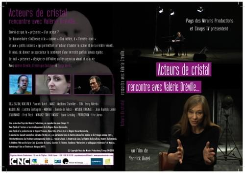 DVD ACTEURS DE CRISTAL - RENCONTRE AVEC VALERIE DREVILLE (52 min)