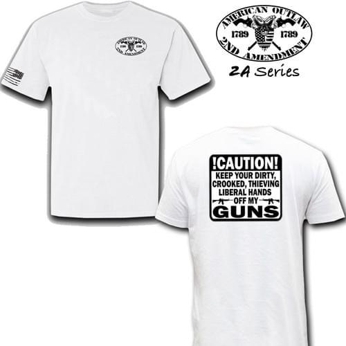 Hands Off My Guns Tee