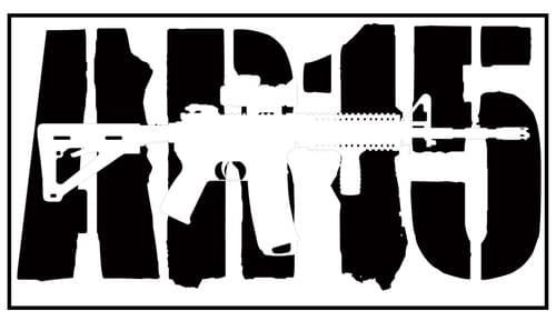 AR 15 Decal