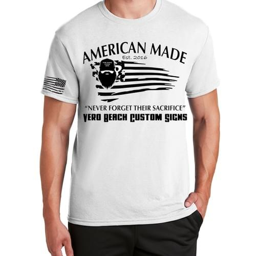 American Made Print Tee
