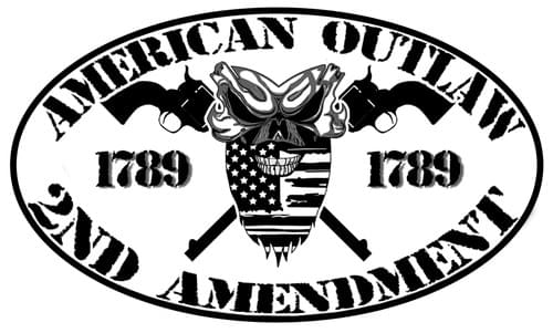 American Outlaw 2nd Amendment Decal
