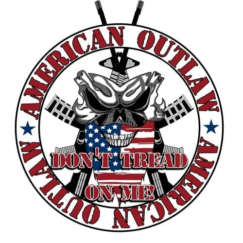 American Outlaw - Don't Tread On Me Decal