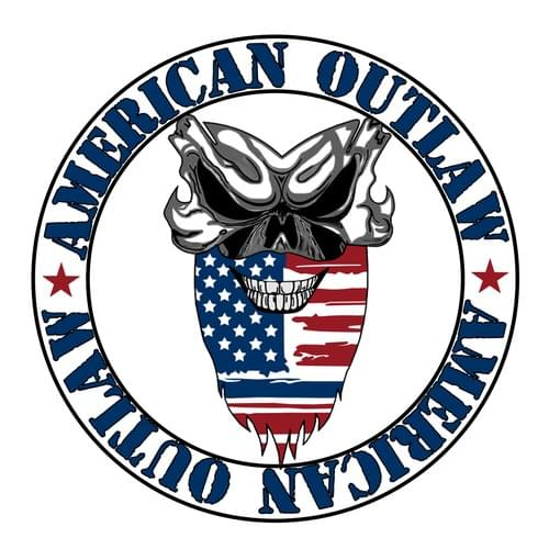 "American Outlaw ""Back The Blue"" Decal"