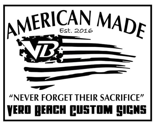 Vero Sign Guys - American Made Decal