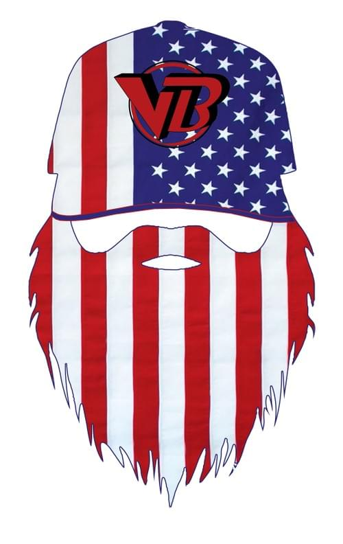 Vero Sign Guys Bearded-Flag Decal