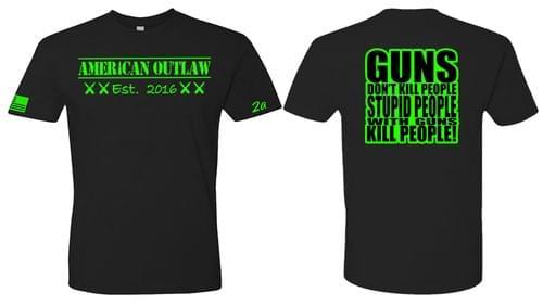 """American Outlaw """"Guns"""" Tee"""