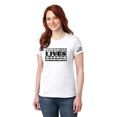 American Lives Matter Ladies Tee