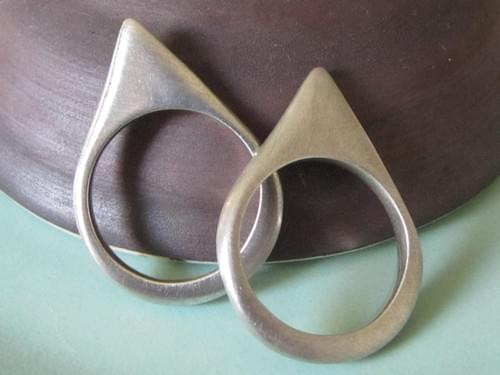 Infinity Slice Triangle Rings