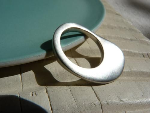 Infinity Rounded Ring - made to order