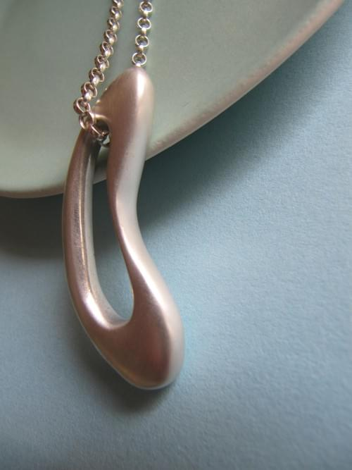 Infinity Signature Silver Pendant