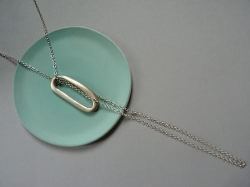 New - Infinity Sea - Large Calamari Loop Necklace