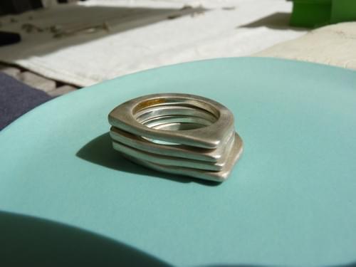 Infinity Slice Stacking Rings