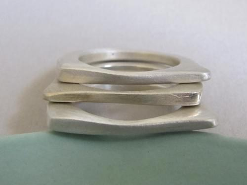 Infinity Slice Stacking Rings