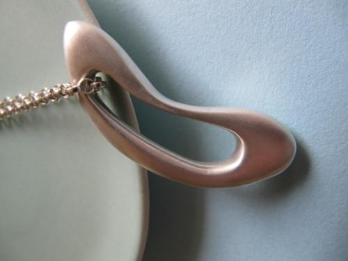 Infinity Signature Silver Pendant