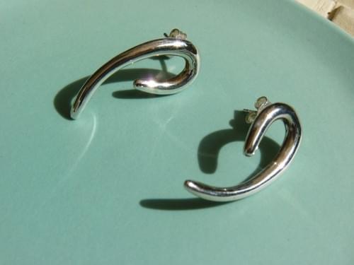 Infinity Curl Earrings
