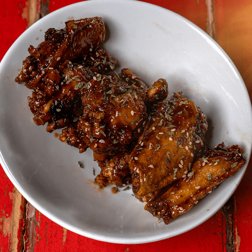 Apricot Glazed Chicken Wings | Carry-Out