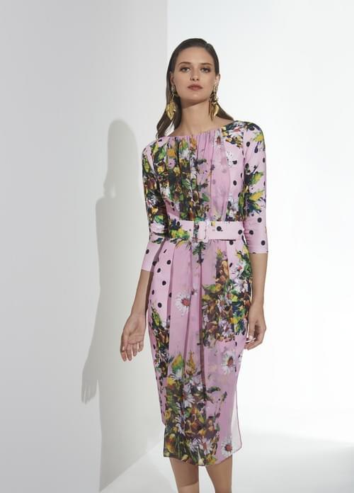 Vestido rosa Matilde Cano