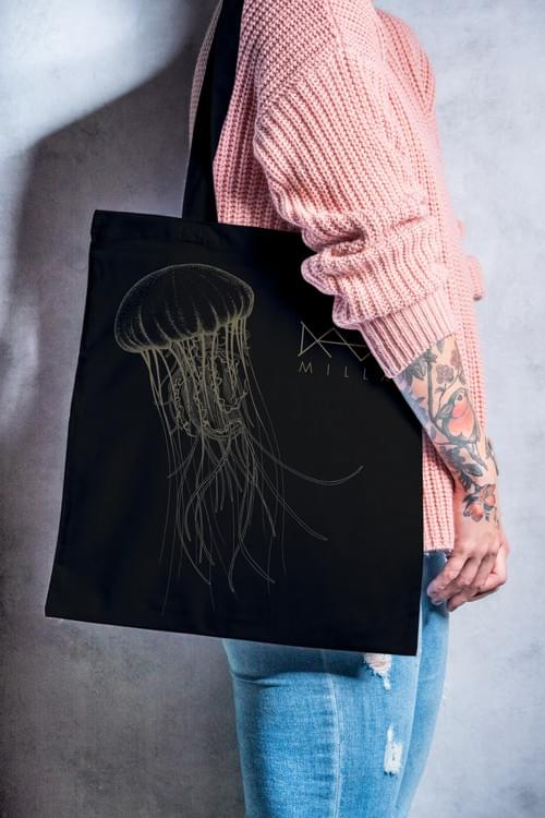 Tote Bag Jelly FIsh