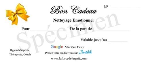Nettoyage Émotionnel - 1h30