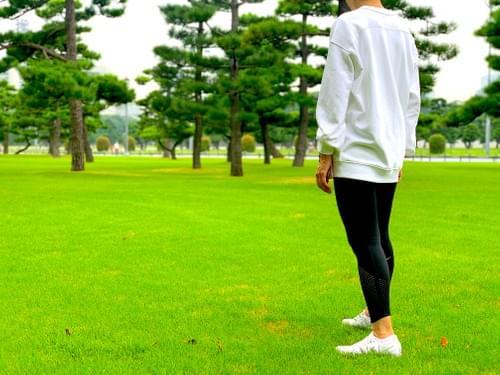 MATSU RUN × lululemon コラボスウェット