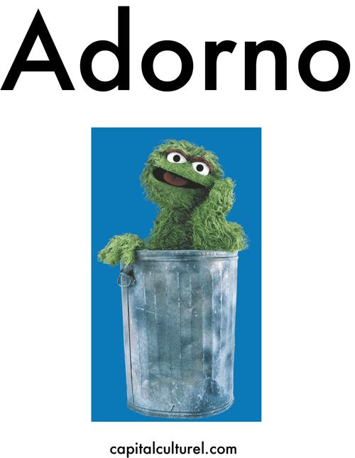 Adorno Sticker (Pack of 3)