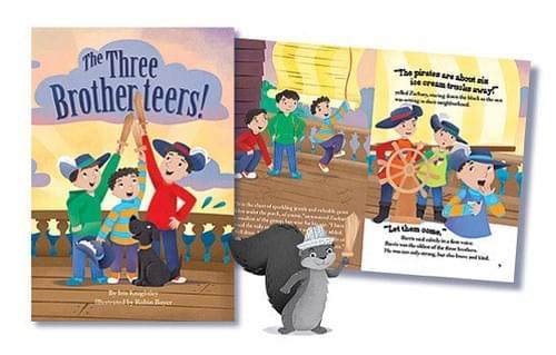 THE THREE BROTHERTEERS- 1ST PRINT EDITION- HARDBACK