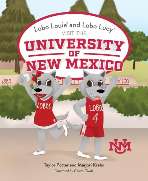 Lobo Louie and Lobo Lucy Visit The University of New Mexico