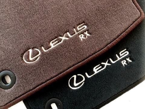 Lexus RX 200t/300/450h Standard Floor Mats (RHD)