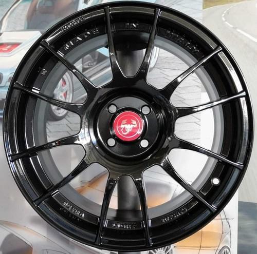 アバルト 500/595 EXTRA LIGHT RACING 17インチ アルミホイール セット(ブラック)