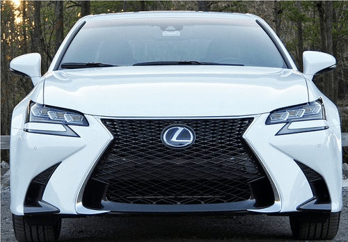 Lexus GS Front Bumper Hole Side Garnish Set