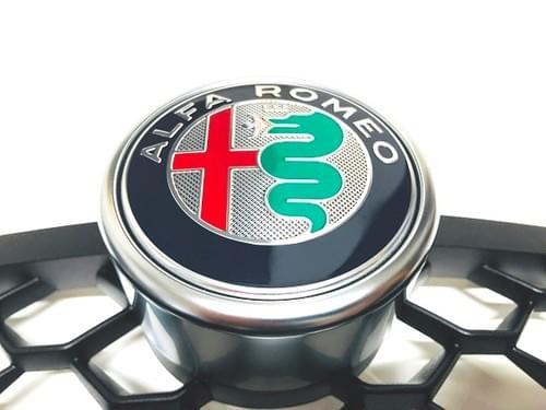 アルファロメオ 純正 ステルヴィオ B-TECH EDITION フロントグリルインサート
