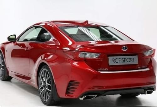 Lexus RC Rear Bumper Protection Plate