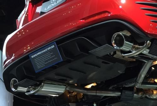 Lexus RC/IS F-Sport Performance Exhaust System
