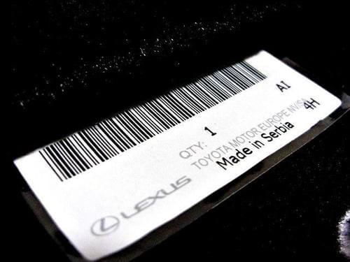 Lexus UX Standard Floor Mats (RHD)