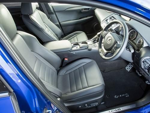 Lexus NX Standard Floor Mats (RHD)