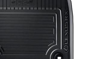 Lexus RX 200t/300/450h Rubber Floor Mats (RHD)