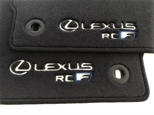 Lexus RC-F Standard Floor Mats (RHD)