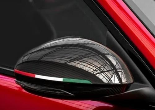 アルファロメオ ジュリア GTA STYLE カーボンミラーカバー