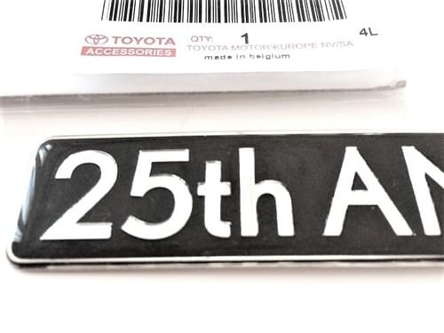 Lexus 25th ANNIVERSARY Edition Badge