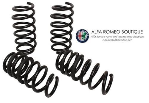 アルファロメオ ジュリア QV クアドリフォリオ スポーツスプリングセット