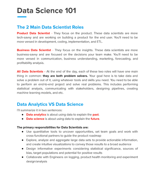 The Friendly Data Science Handbook 2020