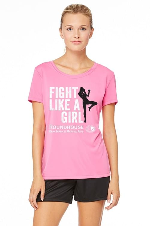 Fight Like A Girl Pink/Black