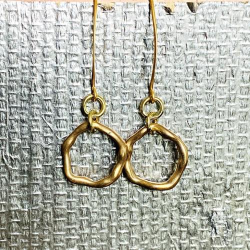 Wavy Loop Earrings