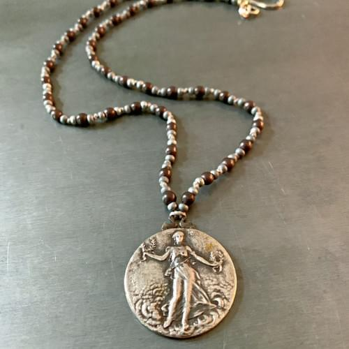 Women Medallion Necklace