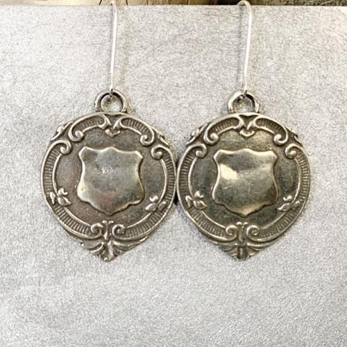 Silver Shield Medallions