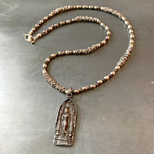 Thai Buddha Amulet Necklace