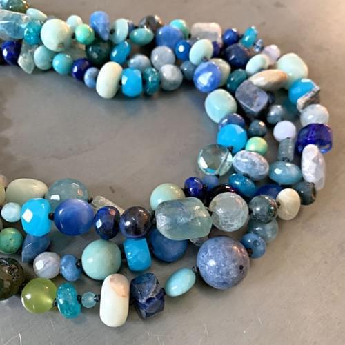 Multi-blue Multi-strand