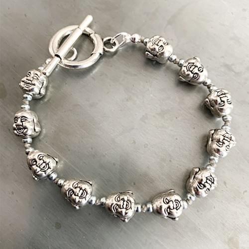 Happy Buddha Bracelet
