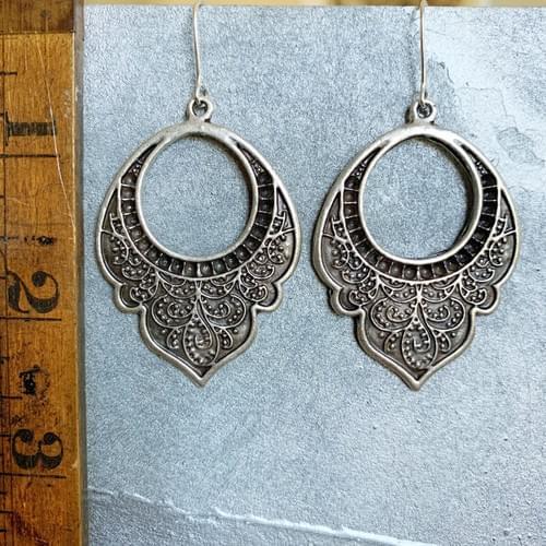 Tribal Motif Earrings